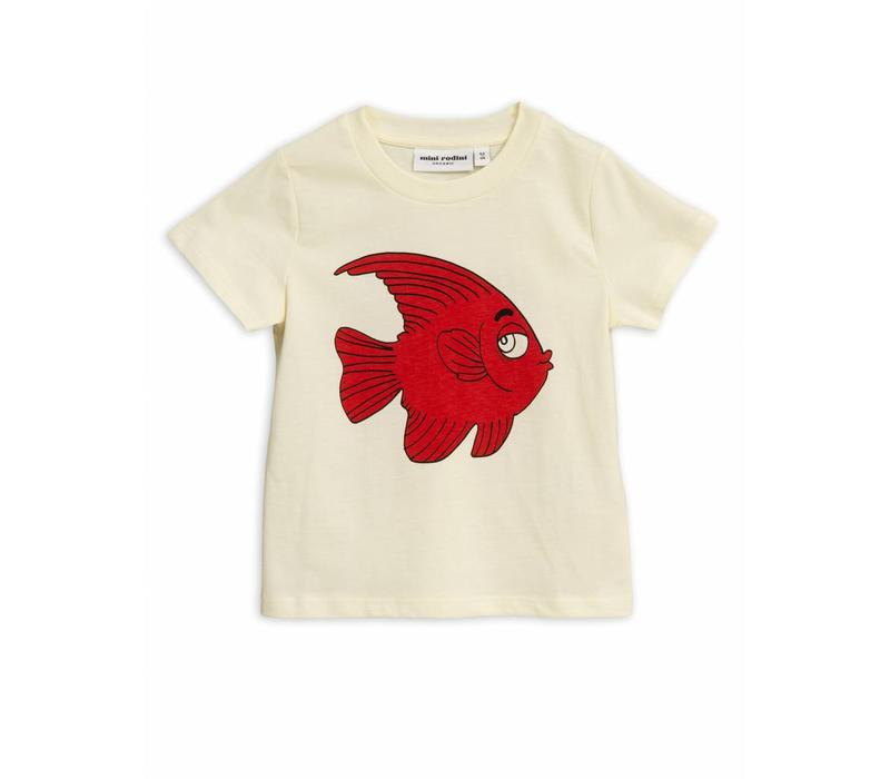Fish sp tee Offwhite