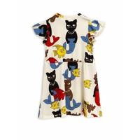 Cat mermaid dress Offwhite