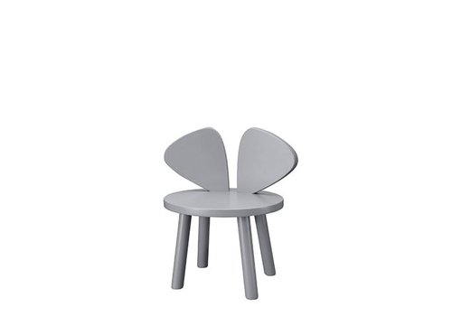 Nofred MOUSE CHAIR (2-5 YEARS) // GREY