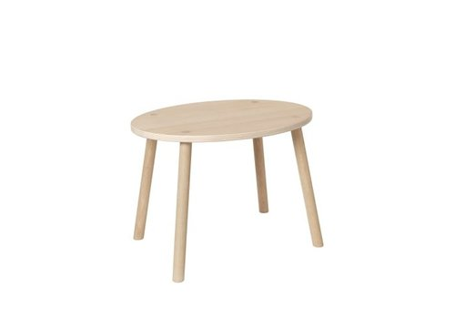 Nofred MOUSE TABLE (2-5 YEARS) // OAK