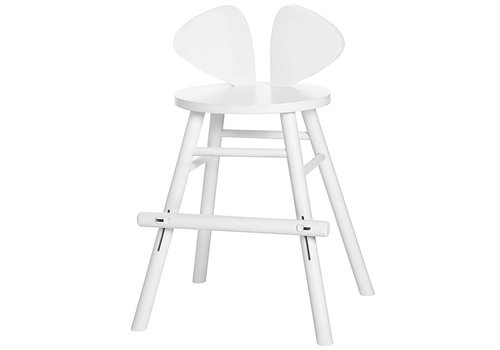 Nofred MOUSE JUNIOR HIGH CHAIR (4-8 YEARS) // WHITE