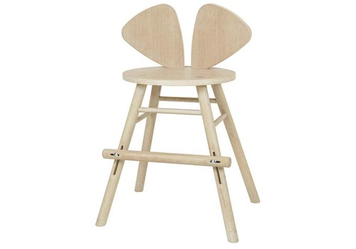Nofred MOUSE JUNIOR HIGH CHAIR (4-8 YEARS) // OAK