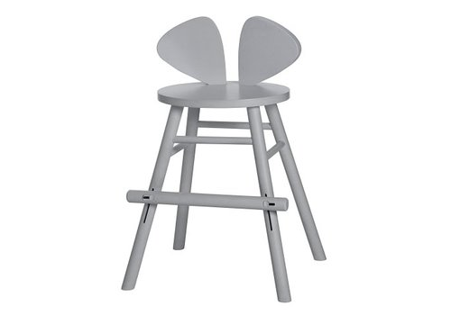 Nofred MOUSE JUNIOR HIGH CHAIR (4-8 YEARS) // GREY
