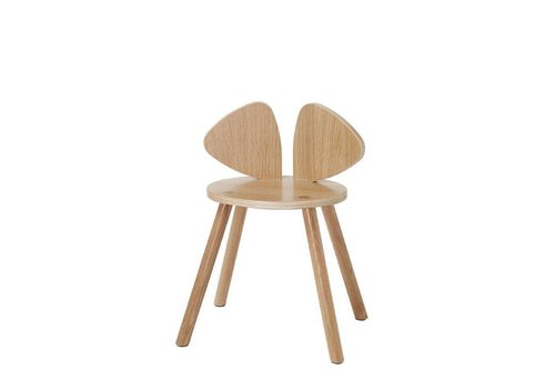 Nofred MOUSE CHAIR SCHOOL (6-10 YEARS) // LACQUERED OAK
