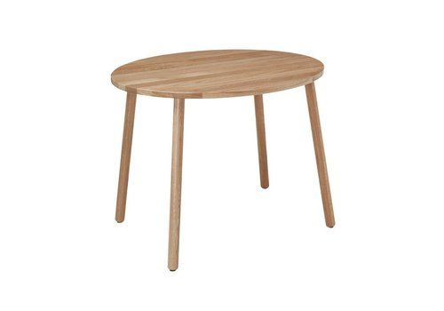 Nofred MOUSE TABLE SCHOOL (6-10 YEARS) // LACQUERED OAK