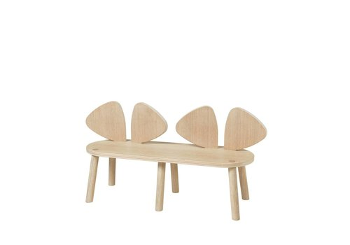 Nofred MOUSE BENCH (2-5 YEARS) // OAK