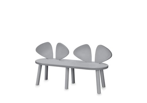Nofred MOUSE BENCH (2-5 YEARS) // GREY
