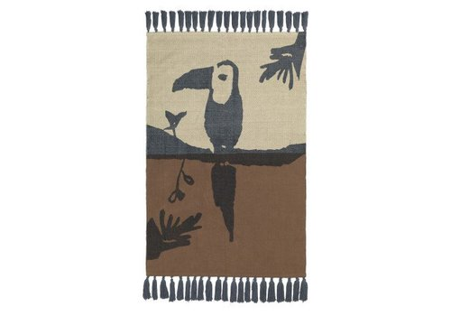 Nofred TOUCAN RUG // BROWN