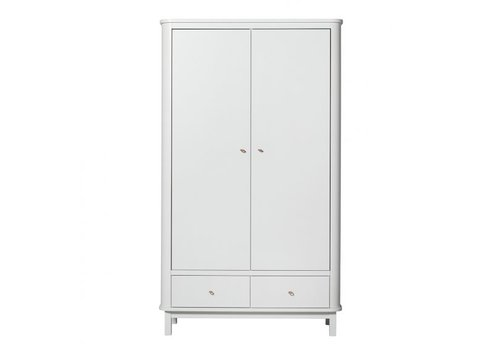 Oliver Furniture KAST WOOD WARDROBE 2 DOORS – WHITE