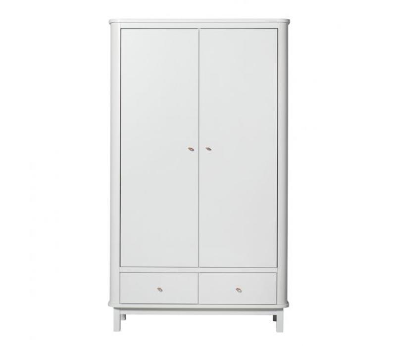Hang Legkast 3 Deurs.Oliver Furniture Kast Wood Wardrobe 2 Doors White Store Of Daydreams