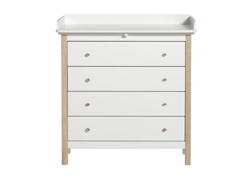 Oliver Furniture COMMODE WOOD NURSERY DRESSER