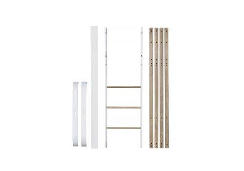 Oliver Furniture CONVERSIEKIT MINI+ TO MINI+ LOW LOFT BED WHITE/OAK
