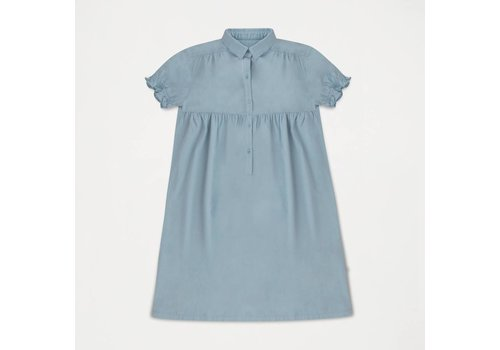 Repose AMS Dreamy Shirt Dress Ironlike Blueish