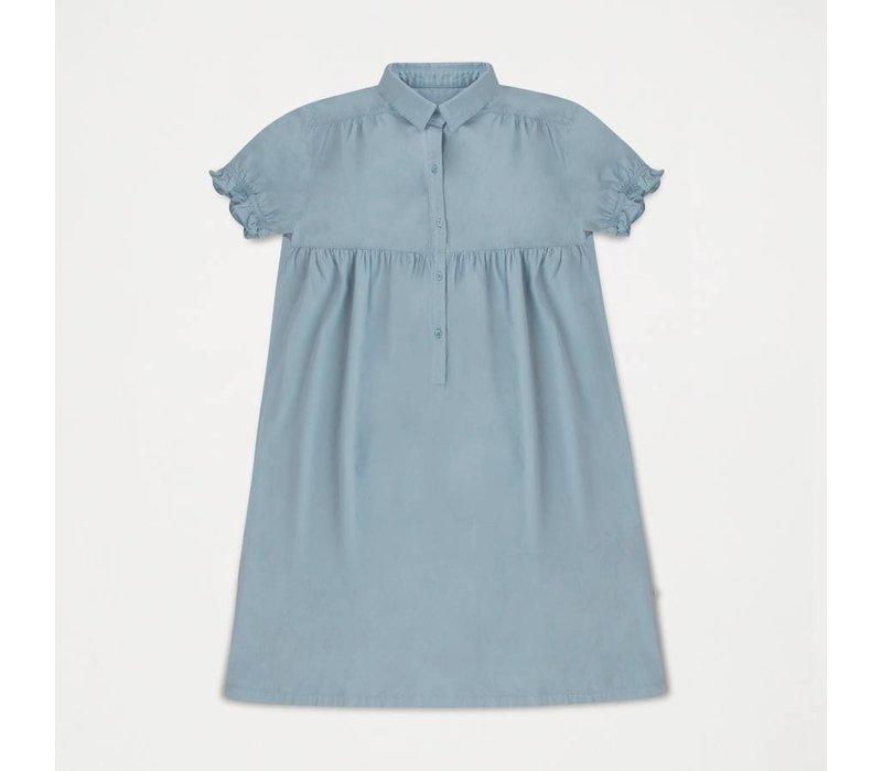 Dreamy Shirt Dress Ironlike Blueish