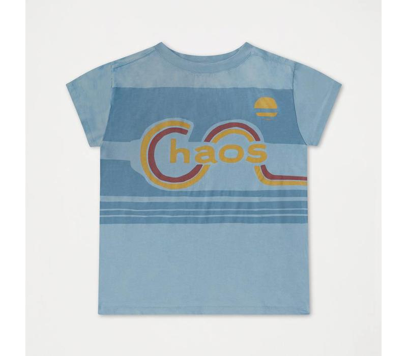Tee Shirt, Weathered Dreamy Blue