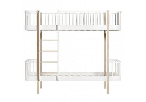 Oliver Furniture WOOD BUNK BED LADDER/FRONT 90X200 WHITE-OAK