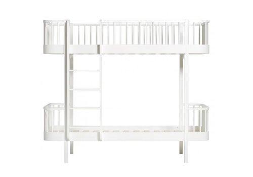 Oliver Furniture WOOD BUNK BED LADDER/FRONT 90X200 WHITE