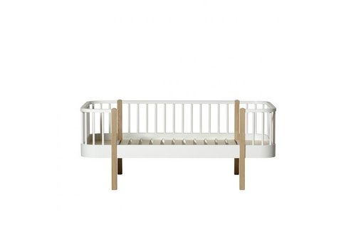 Oliver Furniture WOOD JUNIOR DAY BED 90X160 WHITE-OAK