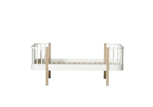Oliver Furniture WOOD JUNIOR BED 90X160 OAK-WHITE
