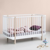 LEDIKANT WOOD COT 70X140 WHITE-OAK