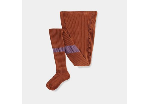 Repose AMS Tights Caramel Earthy Lilac Block