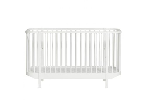 Oliver Furniture LEDIKANT WOOD COT 70X140 WHITE
