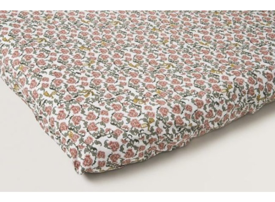 Floral Vine Adult Fitted Sheet