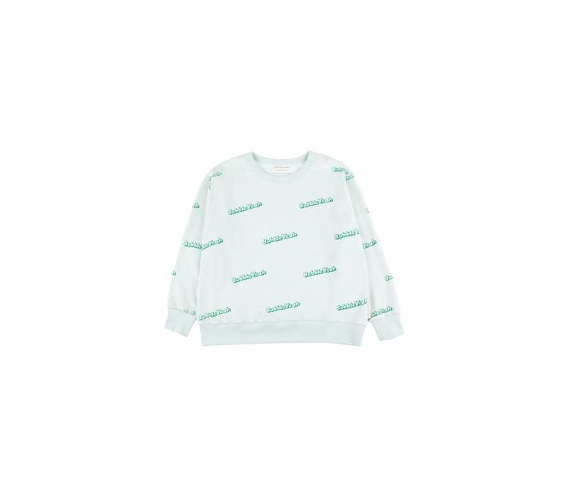 Bubble Yeah Sweatshirt Light Mint/Deep Green