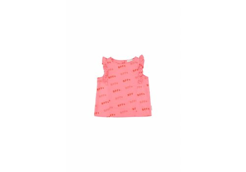 Tiny Cottons BFFs' Ruffles Blouse Rose/Red