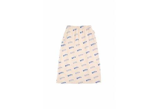 Tiny Cottons BFFs' Long Skirt Cream/Ultramarine