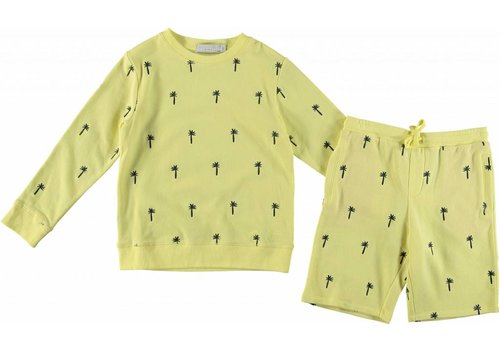 Stella McCartney Kids Embros Palms Tracksuit Hot Yellow