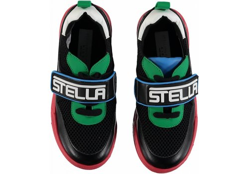 Stella McCartney Kids Stella Logo Shoes Multic Black