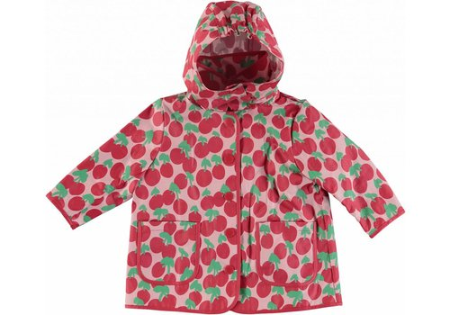 Stella McCartney Kids Cherry Raincoat Cherry Spot On Pearl