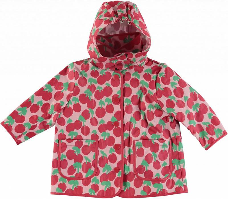Cherry Raincoat Cherry Spot On Pearl