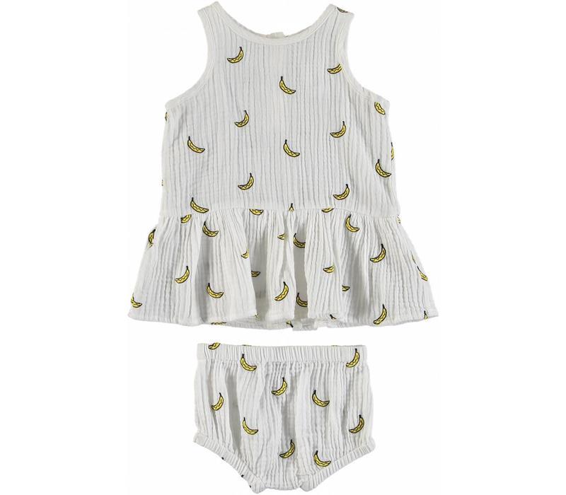 Bananas Dress Embro Small Banana D