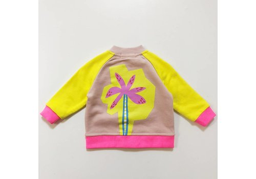 Stella McCartney Kids Palm Jacket Pearl Pink