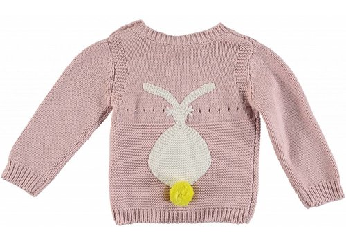 Stella McCartney Kids Rabbit Jumper Pearl Pink
