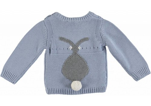 Stella McCartney Kids Rabbit Jumper Sky