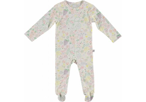 Stella McCartney Kids Multic. Fruit & Veg Pijama Baby Veg&Fruit Aop W