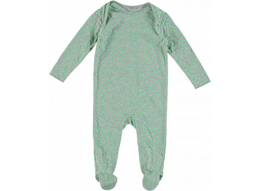 Dots Pijama Fluro Green Dots Gre