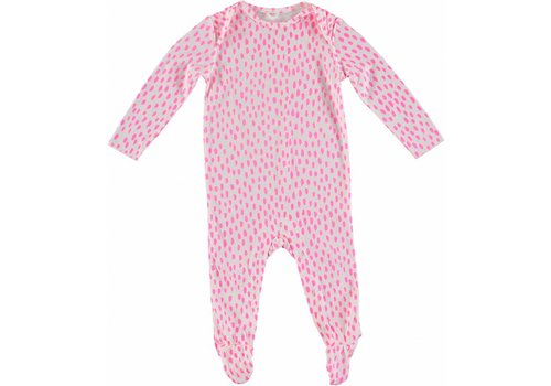 Stella McCartney Kids Dots Pijama Fluro Pink Dots Crea