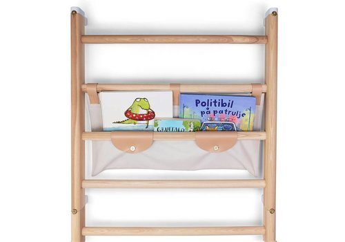 KAOS Canvas shelf for wall-bars / Light grey