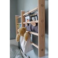 Canvas shelf for wall-bars / Light grey