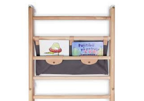 KAOS Canvas shelf for wall-bars / Dark Grey
