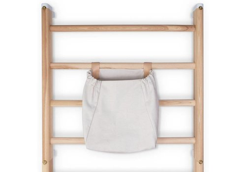 KAOS Canvas Storage bag wall-bars / Light Grey