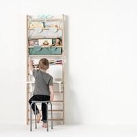 Canvas Storage bag wall-bars / Light Grey