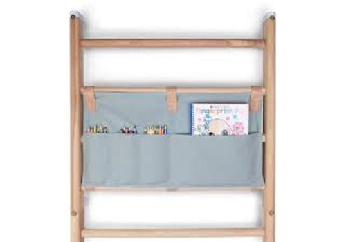 KAOS Canvas Organizer for wall-bars / Dusty Aqua