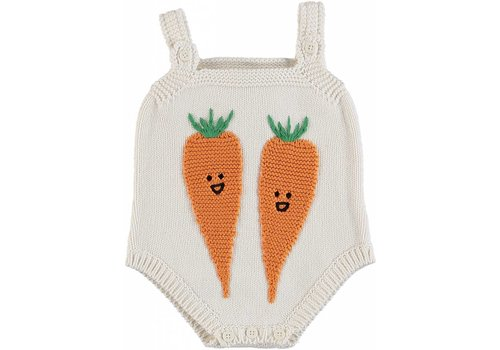 Stella McCartney Kids Carrot Knit All In One Cloud