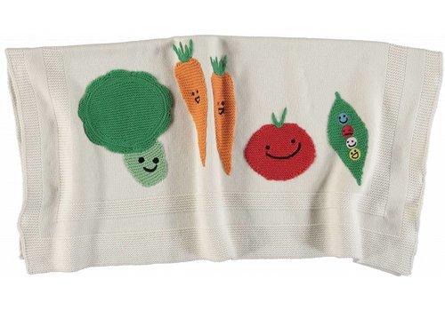 Stella McCartney Kids Vegetables Blanket Cloud