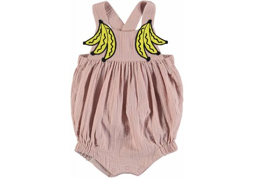 Stella McCartney Kids Banana Patch All In One Pearl Pink